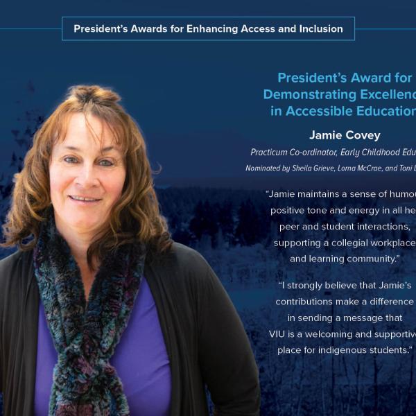 Jamie Covey President's Award 2020