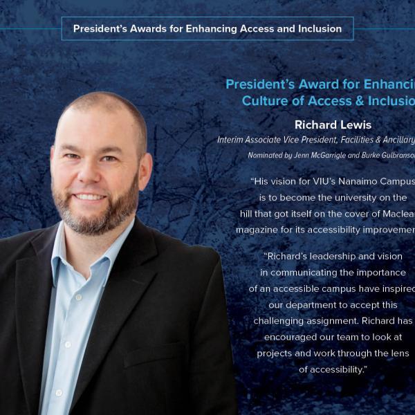Richard Lewis President's award 2020