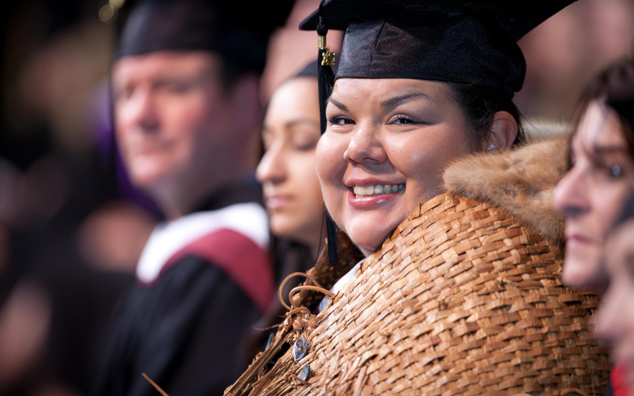 Grad Ceremony Student