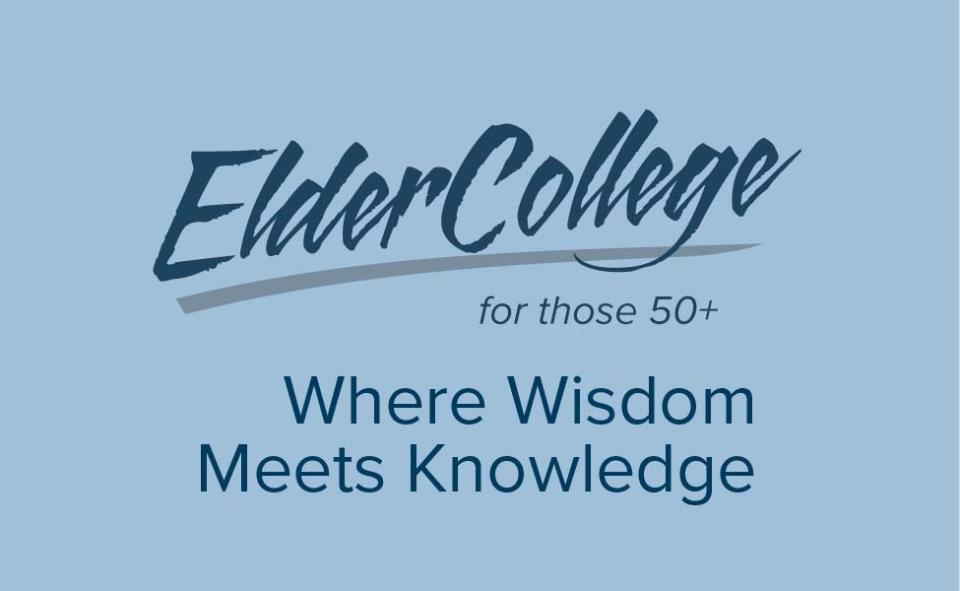 VIU ElderCollege. For those 50 or better. Where Wisdom Meets Knowledge.
