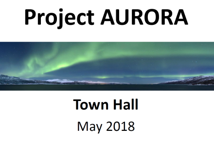 Town Hall Title Slide